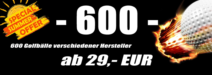 600 Golfbälle
