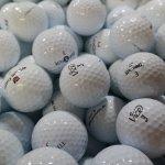 Golfbälle Qualitätsmix