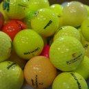 Golfbälle Mix AAAA/AAA farbig gelb rot orange bunt...
