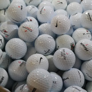 Golfbälle Mix 400 weiß