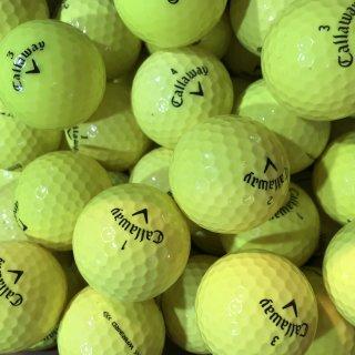 Golfbälle Callaway Mix gelb AAAA