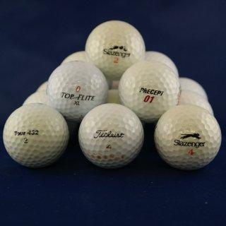 200 Golfbälle Qualität 3 - A