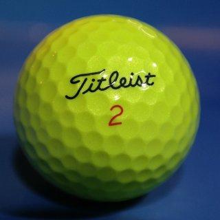Golfbälle Titleist gelb Qualität AAAA AAA