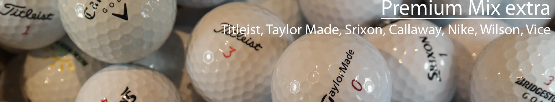 Golfbälle Premium Mix extra